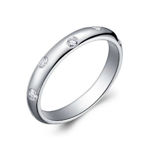 diamonds eternity wedding band