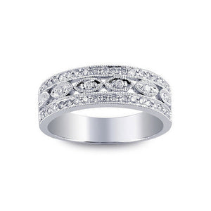 Pave Diamond Band