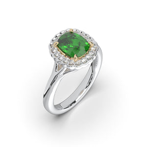 The Alexandra Emerald Ring