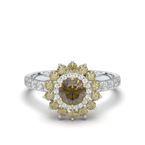 The Vivienne Champagne Ring