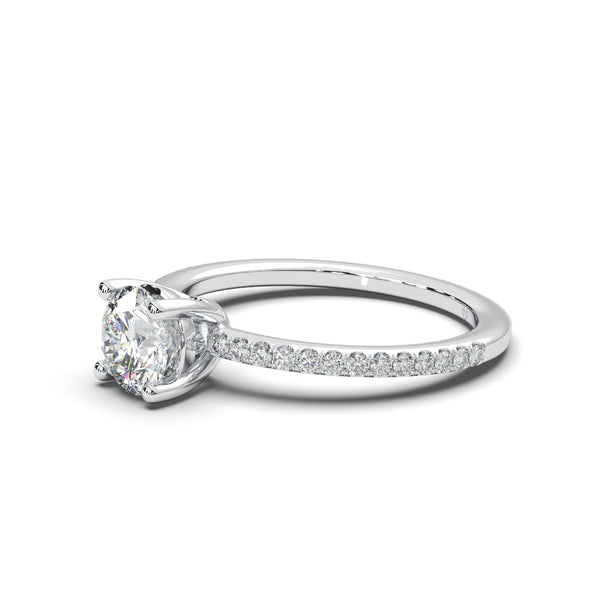 Moissanite Riviera Ring