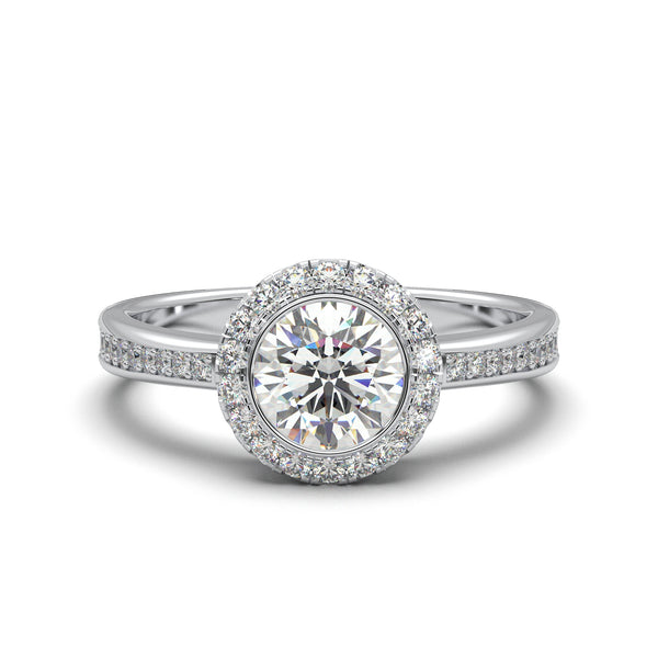 Moissanite Veronica Ring