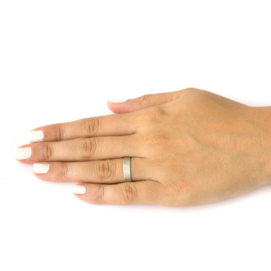 hebrew wedding ring the one