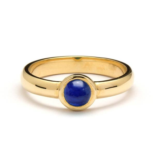 Alis Cabochon Sapphire Ring
