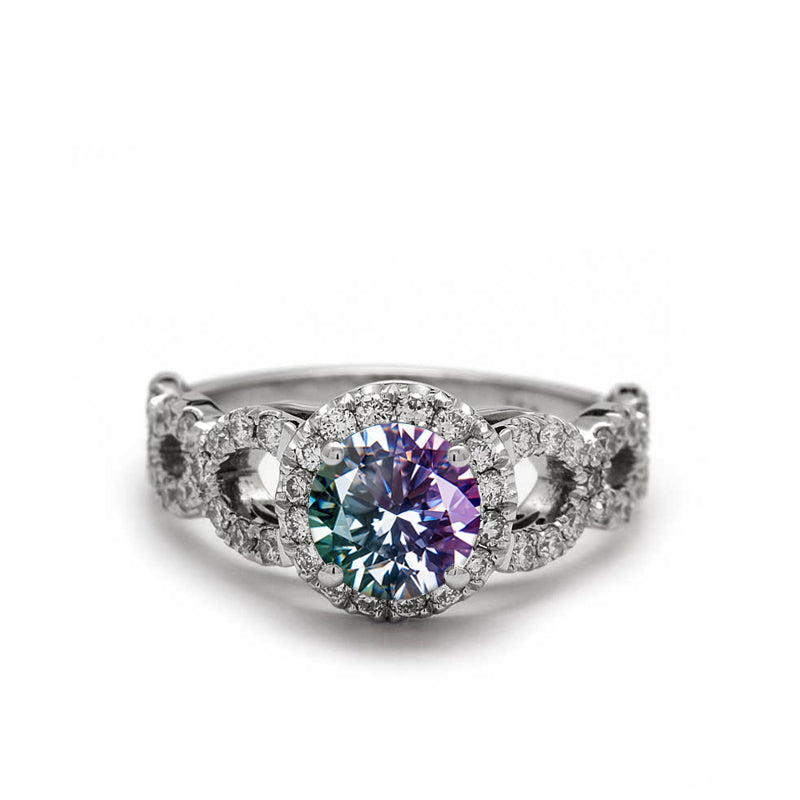 Alexandrite Engagement Ring The Amore Alexandrite Ring