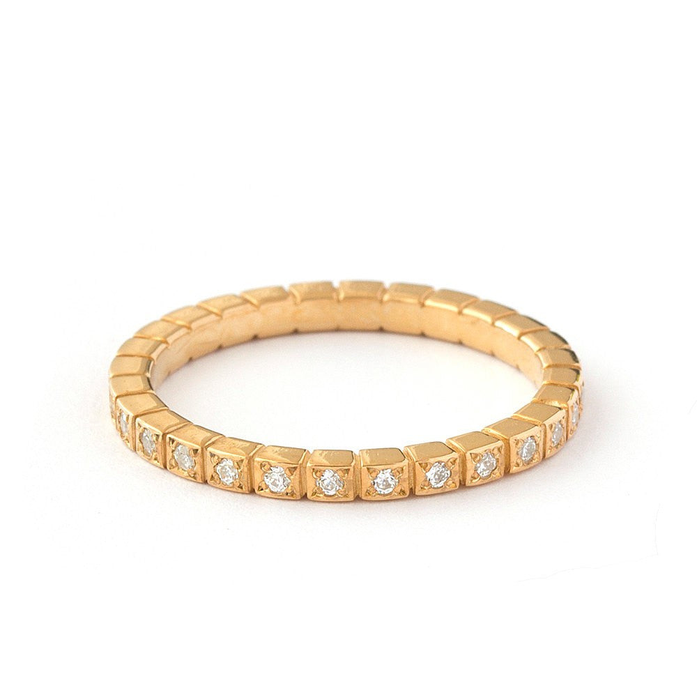 Yellow Gold Eternity Ring