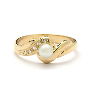 14K Yellow Gold The Anisah Engagement Ring