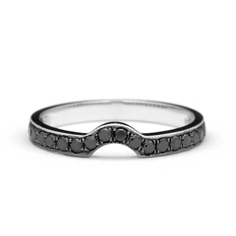 Alesso Black Diamonds Wedding Ring