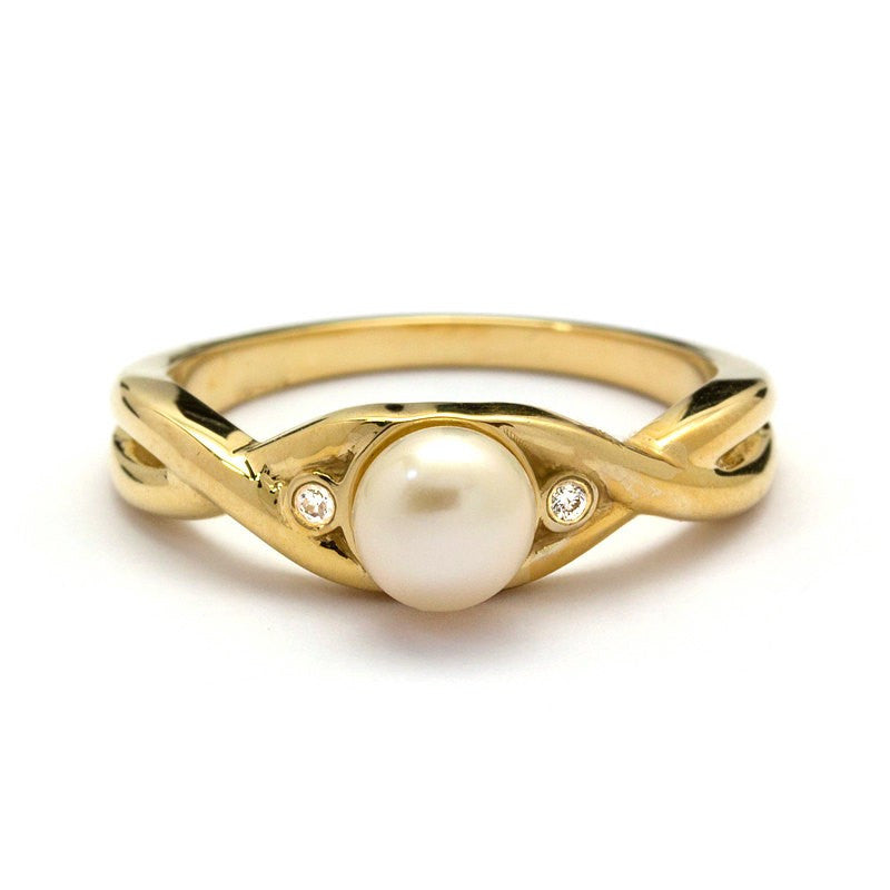 Lina Pearl Engagement Ring