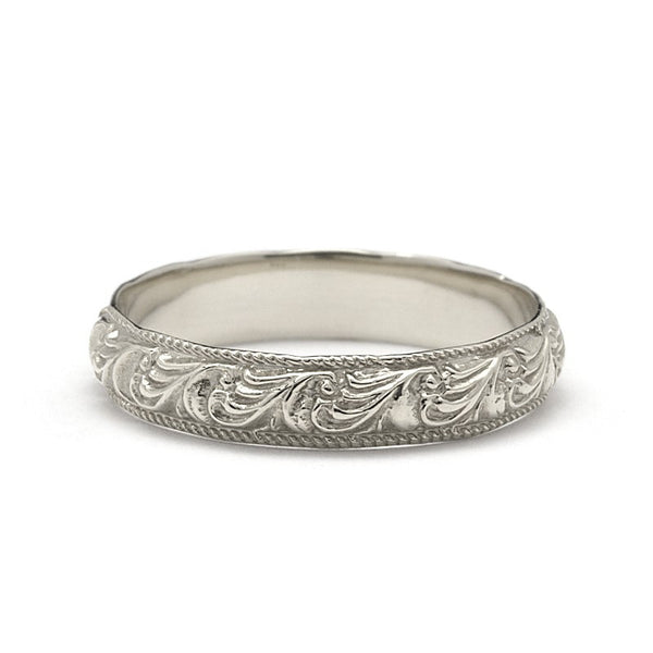 MOJAVE FOLIAGE WEDDING RING