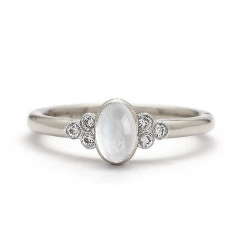Moonstone Engagement Ring Aleah Ring Juliet Oliver