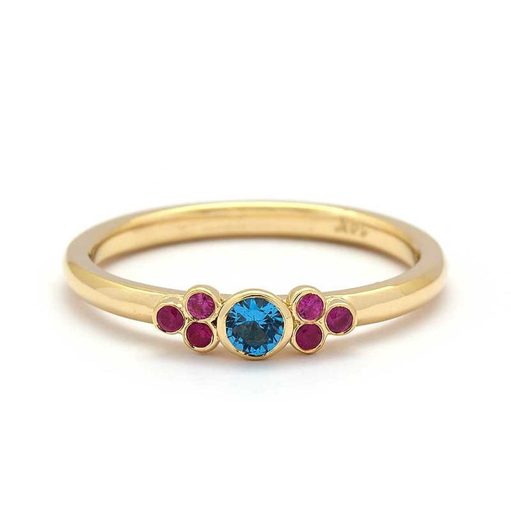 Ravenna Blue Topaz Ring