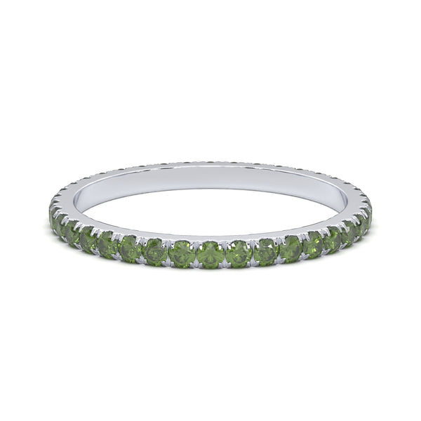 Verde Green Eternity Ring