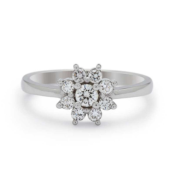 ROSINA DIAMOND ENGAGEMENT RING