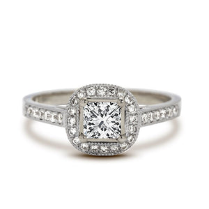 Sienna Princess Diamond Engagement Ring