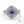 Load image into Gallery viewer, vintage style tanzanite engagement ring white gold