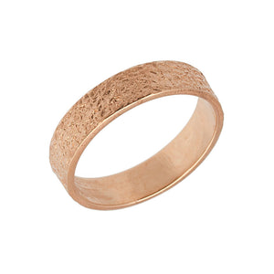 textured wedding band