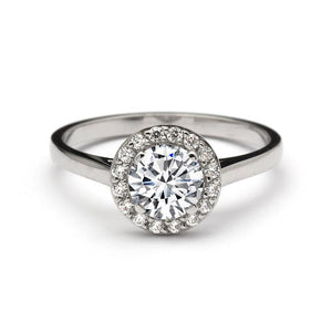 Ulisse 0.90 Carat Diamond Engagement Ring