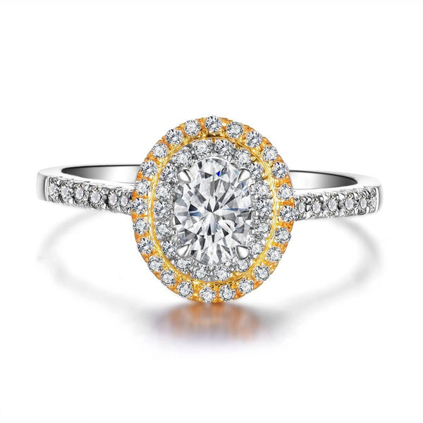 VALEA OVAL DIAMOND ENGAGEMENT RING