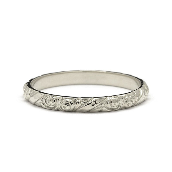 VALLEY OF ROSES WEDDING RING