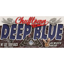 Chufftown Deep Blue 10ml aroma label