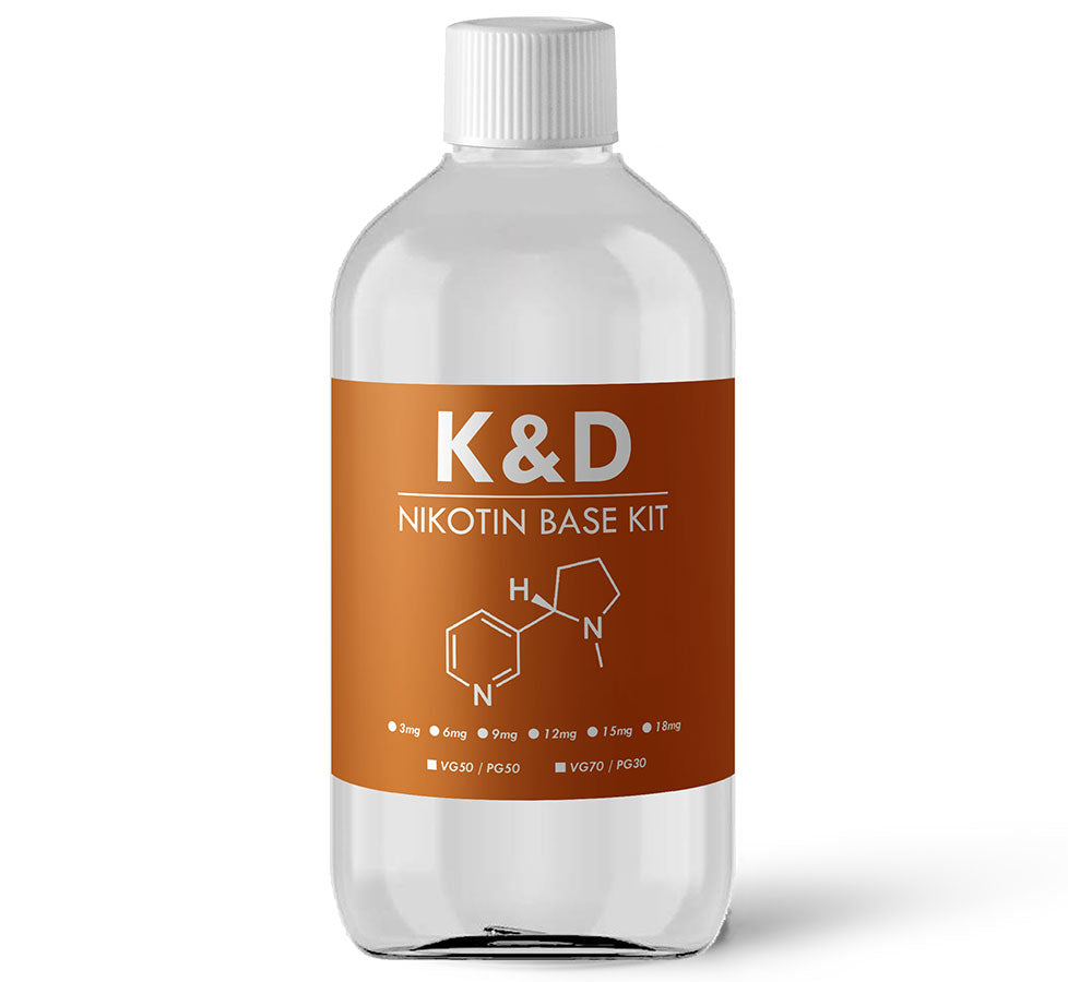 K&D Nikotin Base Kit 500ml (3mg)