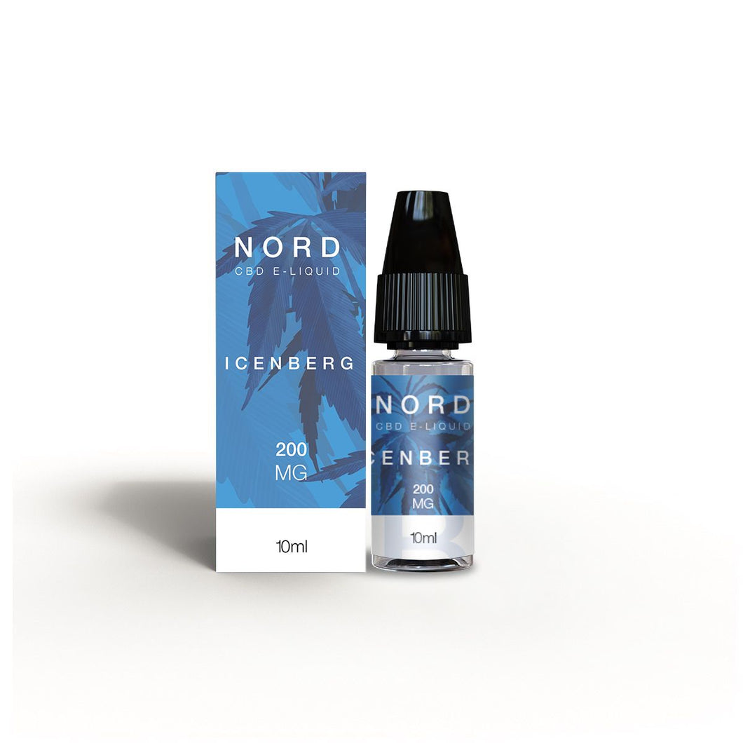 Nord CBD E-liquid Icenberg 10ml - 200mg
