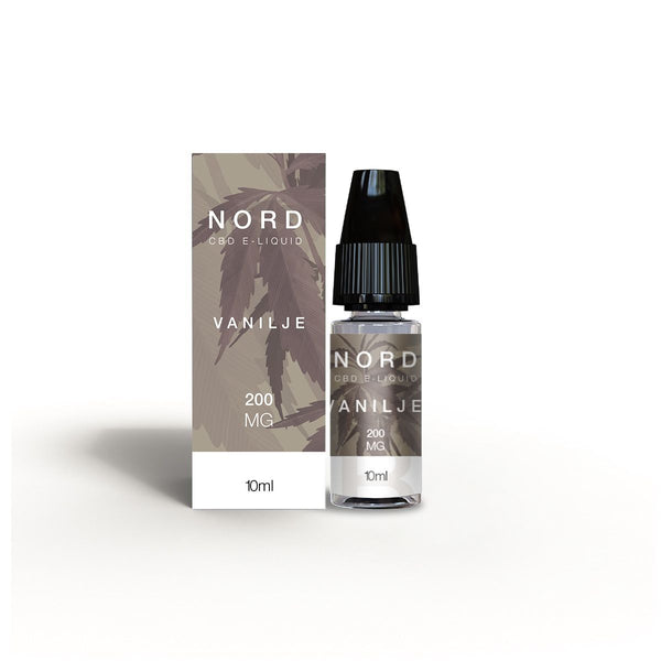 Nord CBD E-liquid Vanilje 10ml - 200mg
