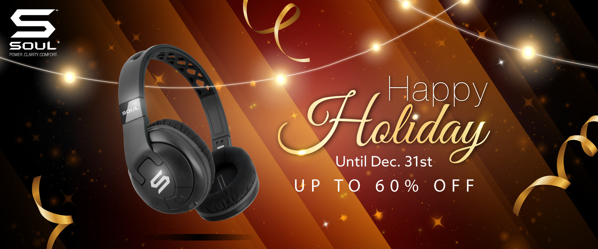 December 1212 Sale Discount | Wireless Earbuds | SOUL Electronics