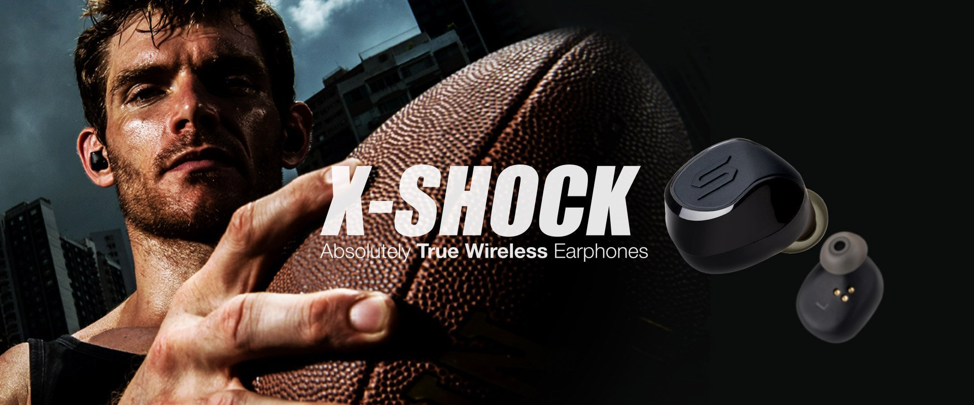 Soul Electronics Xshock True Wireless earphones
