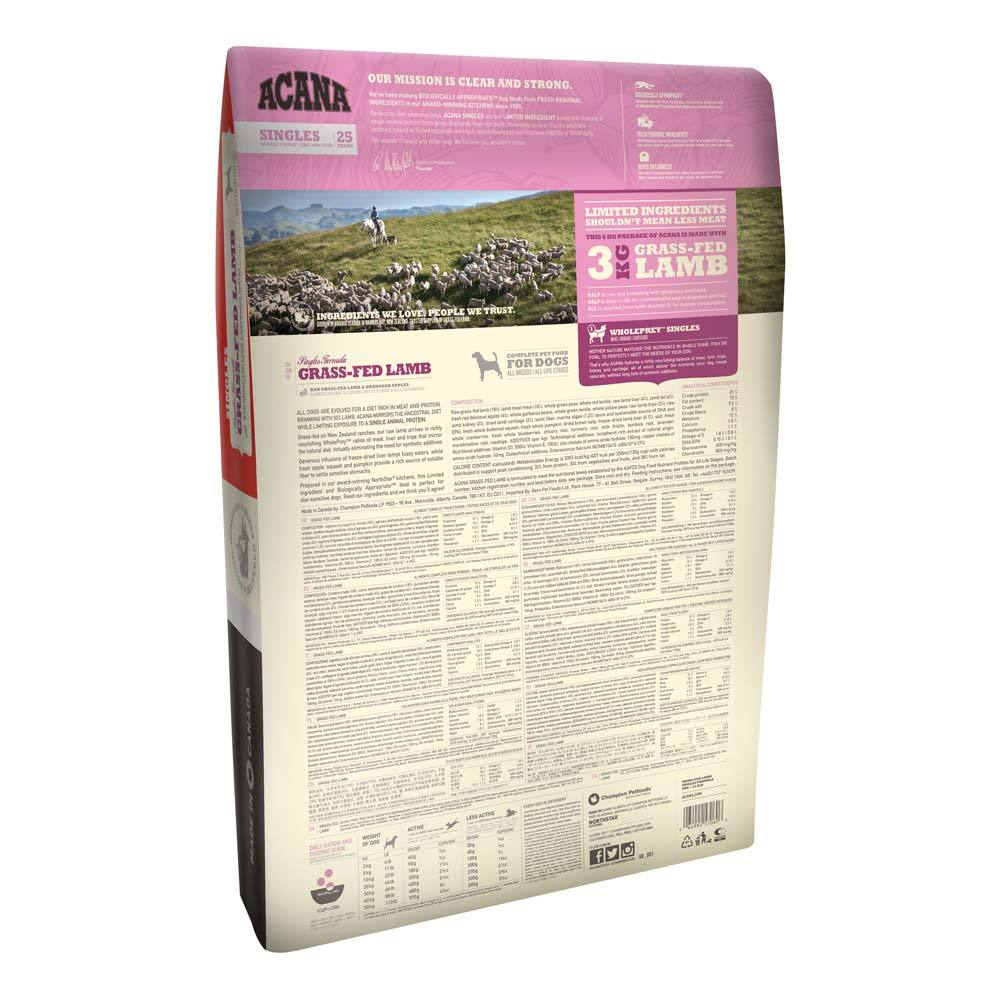 Acana Grass Fed Lamb Dog Food Delivery in Malaysia
