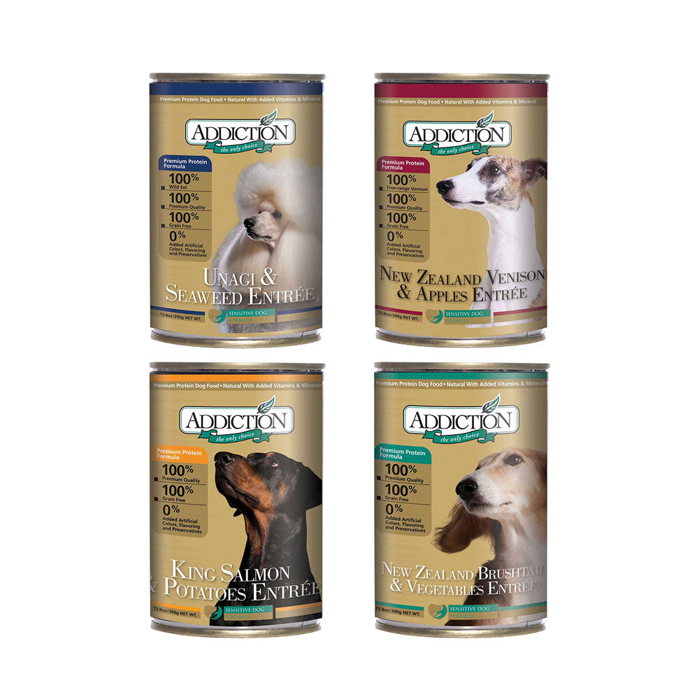 Addiction Canned Dog Food
