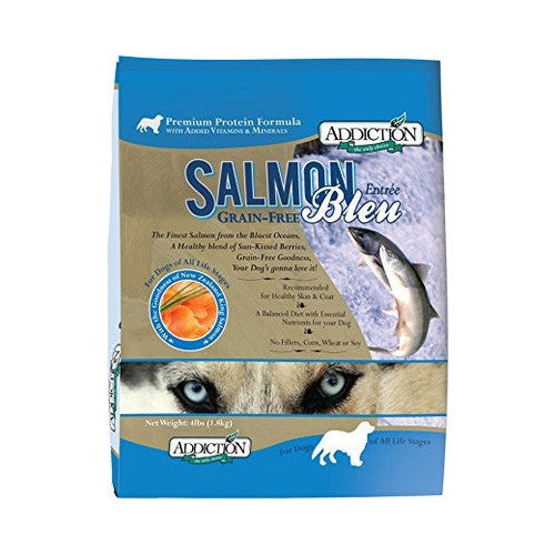 Addiction Salmon Bleu Dog Food Delivery in Malaysia