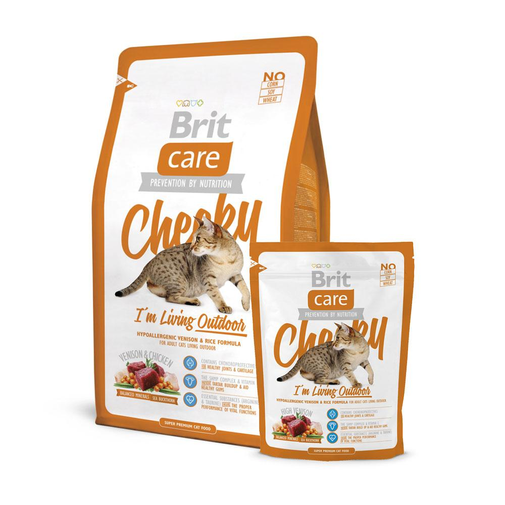 BritCare Cheeky Outdoor Cat Food Delivery in Malaysia
