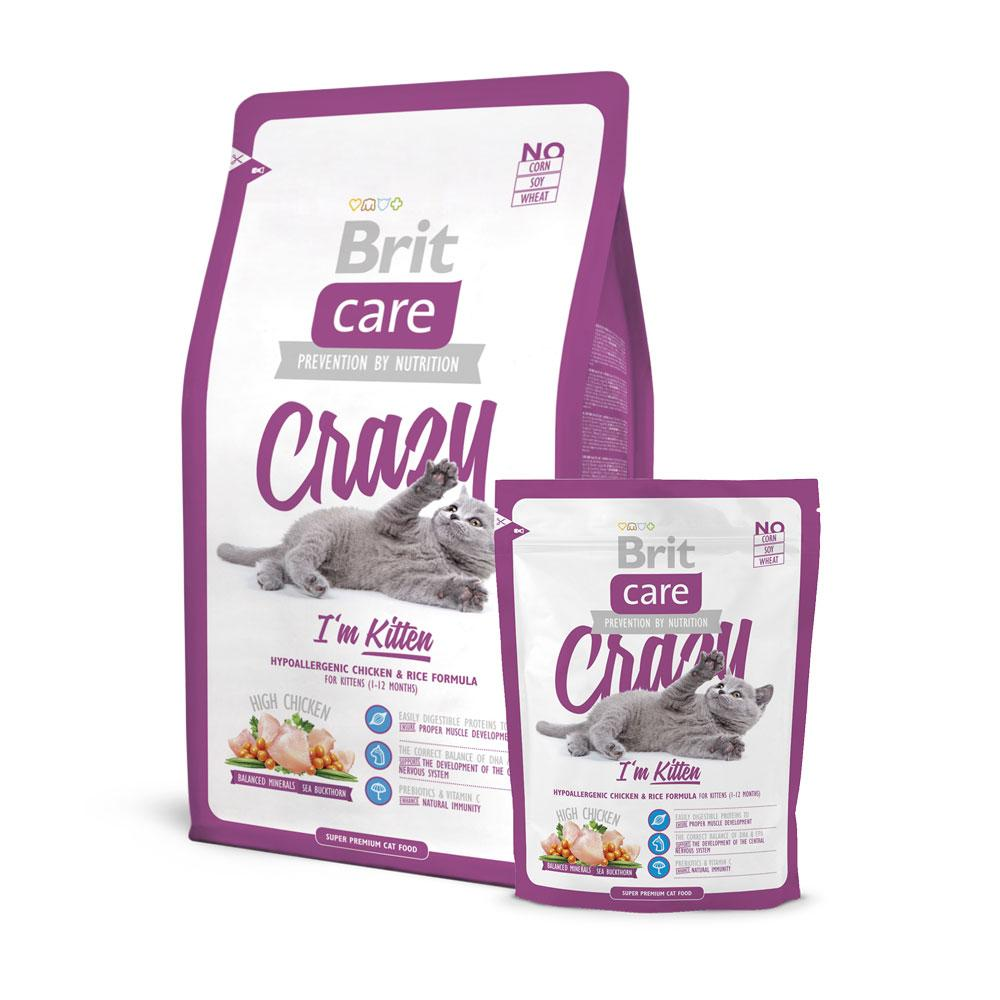 BritCare Crazy Kitten Cat Food Delivery in Malaysia