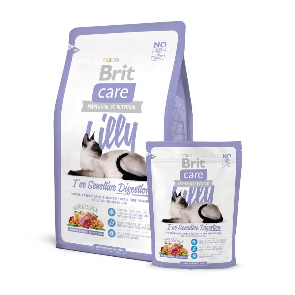 BritCare Lilly Sensitive Digestion Cat Food Delivery in Malaysia