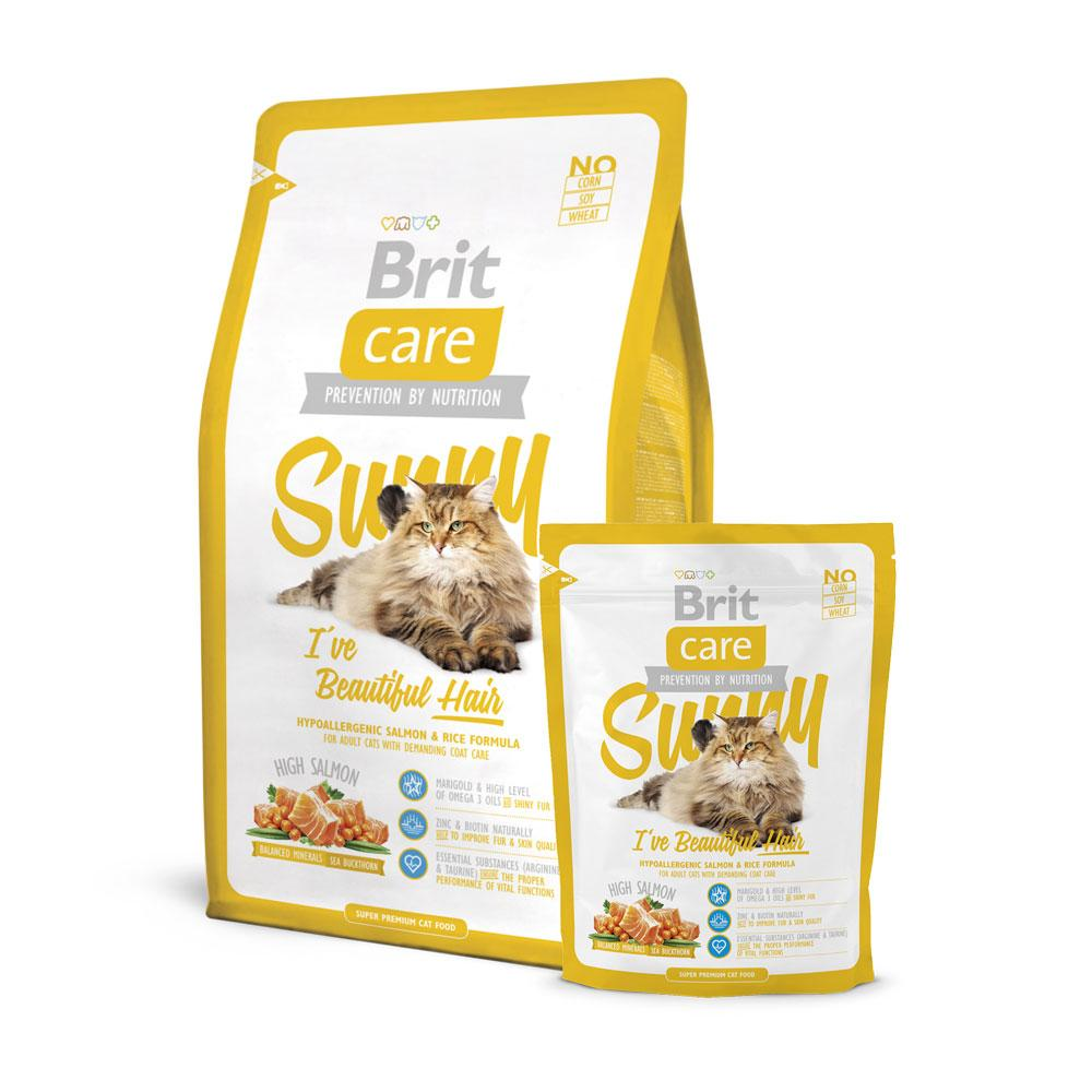 BritCare Sunny Beautiful Hair Cat Food Delivery in Malaysia