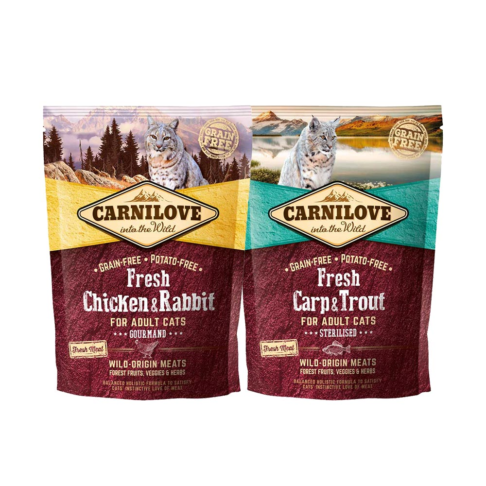 Carnilove Fresh Dry Cat Food