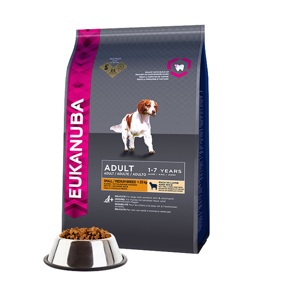 Eukanuba Adult Lamb and Rice Medium Breed Dry Dog Food