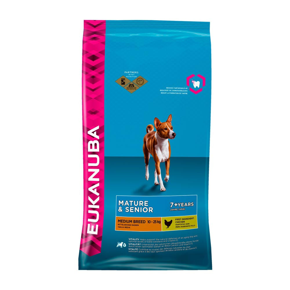 Eukanuba Senior Medium Breed Dry Dog Food Delivery in Malaysia