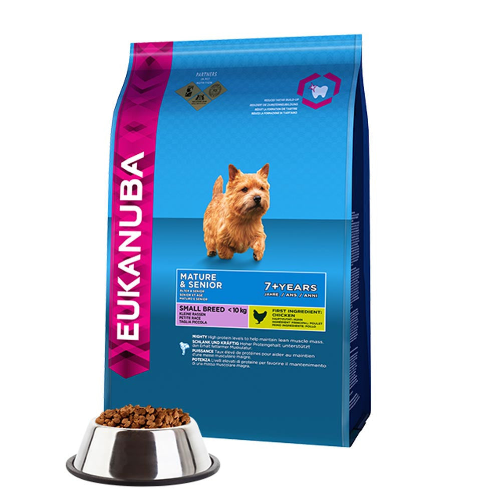 Eukanuba Senior Small Breed Dry Dog Food Delivery in Malaysia