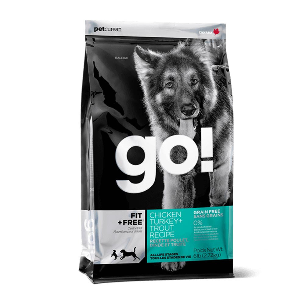 Go! Fit and Free Grain Free Chicken Turkey Trout Dog Food Delivery in Malaysia