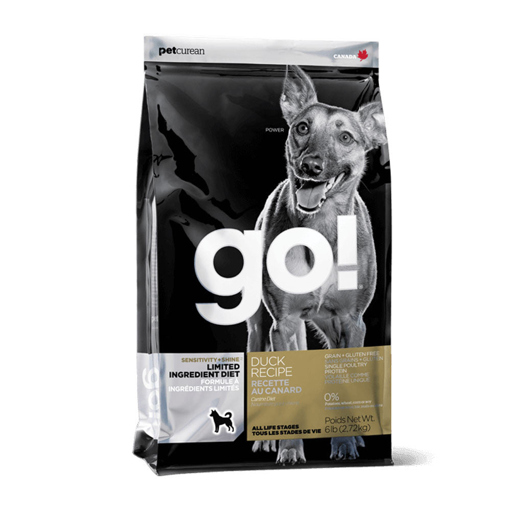 Go! Sensitive and Shine Duck Limited Ingredient Diet Dog Food Delivery in Malaysia