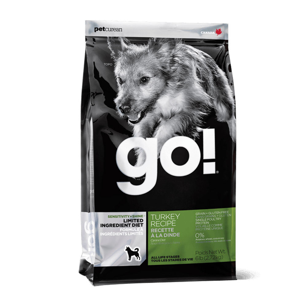 Go! Sensitive and Shine Turkey Limited Ingredient Diet Dog Food Delivery in Malaysia