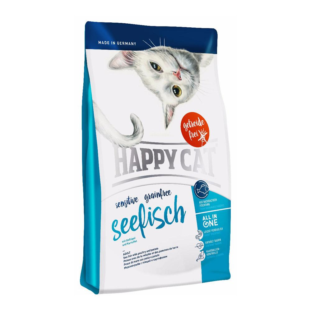 Happy Cat Grain Free Seefisch (Seafish) Dry Cat Food Delivery in Malaysia