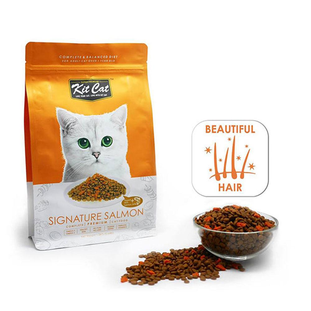 Kit Cat Dry Cat Food Signature Salmon Delivery in Malaysi