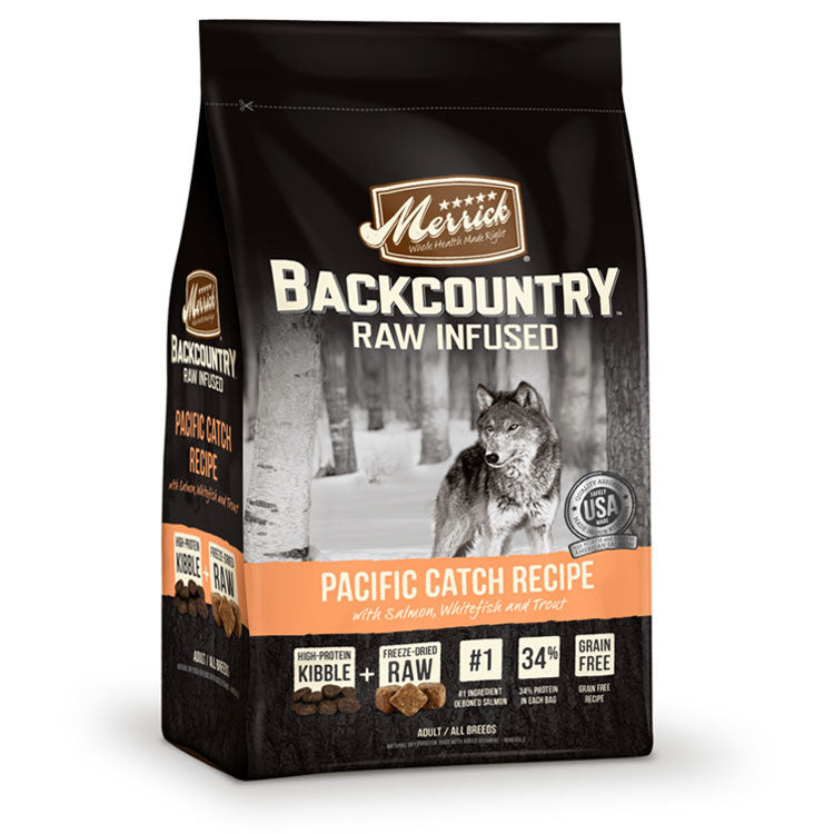 Merrick Backcountry Dog Food Pacific Catch Free Delivery In West Malaysia