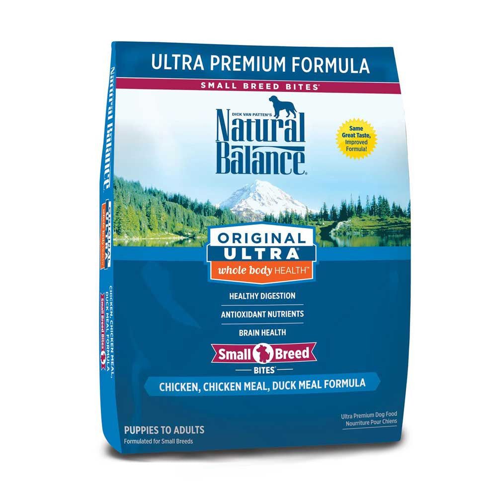 Natural Balance Ultra Premium Small Bites Dog Food Delivery in Malaysia