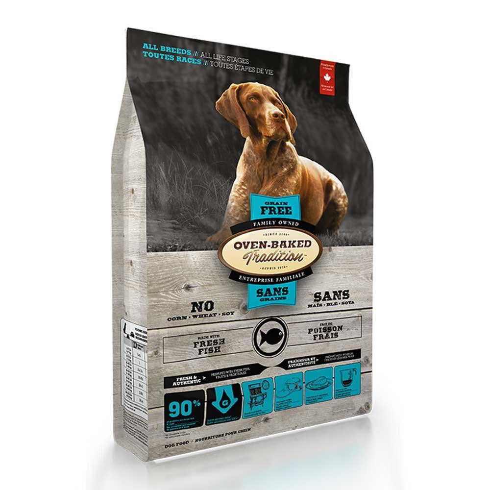 Oven Baked Tradition Grain Free Fish Dry Dog Food