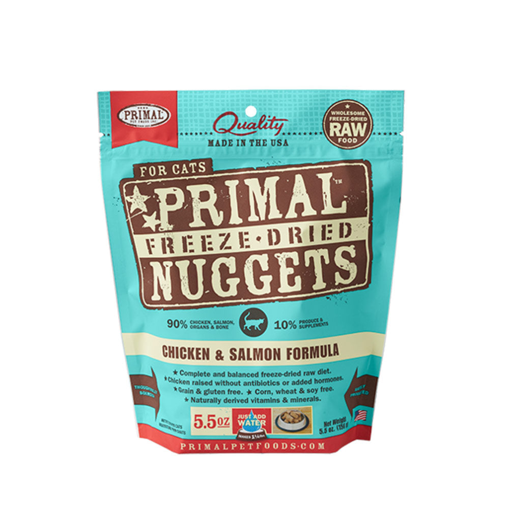 Freeze Dried Chicken & Salmon Formula (GF)